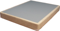 Strobel Organic Heavy-Duty Foundation for Regular Beds or Waterbeds Full